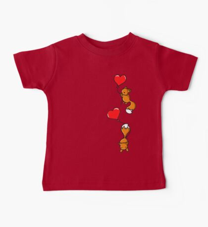Playful Foxes Baby Tee