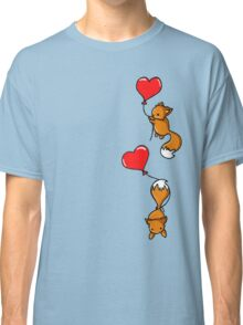 Playful Foxes Classic T-Shirt