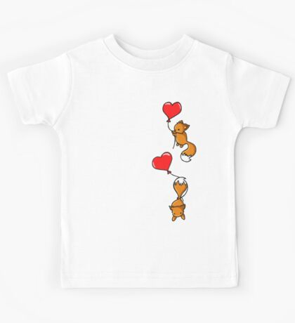 Playful Foxes Kids Tee
