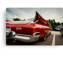 1960 Desoto Fireflite Three Quarter Rear Canvas Print