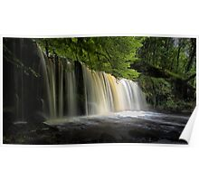 Sgwd Ddwli Uchaf waterfalls South Wales Poster