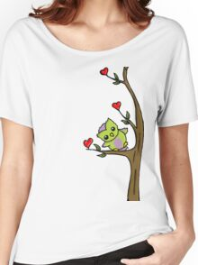 Cute Owl Women's Relaxed Fit T-Shirt