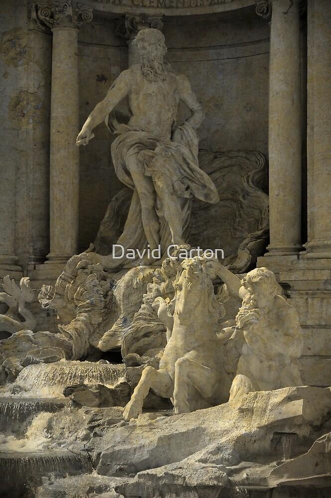 Trevi Fountain, Rome, Italy by buttonpresser