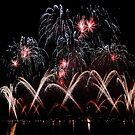 Fireworks Geneva Switzerland 2010 by David Freeman
