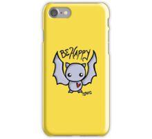 Be Happy Batty iPhone Case/Skin