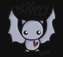 Be Happy Batty One Piece - Short Sleeve
