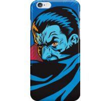 Vampire in a Retro Style iPhone Case/Skin