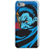 Vampire in a Retro Style iPhone Case/Skin