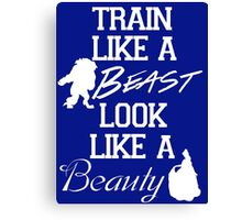 Train Like A Beast [Bright] Canvas Print