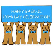 Happy Baek-il 100th Day Celebration for baby boy. by KateTaylor