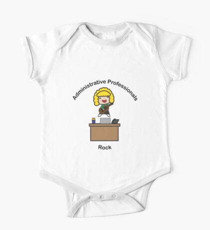 Administrative Professionals Rock (Blonde) Kids Clothes