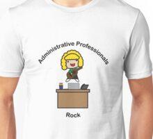 Administrative Professionals Rock (Blonde) Unisex T-Shirt