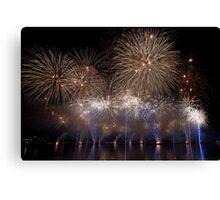 Fireworks 16 Canvas Print