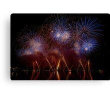 Fireworks 17 Canvas Print