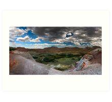 Dinosaur Provincial Park, Alberta Art Print