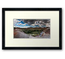 Dinosaur Provincial Park, Alberta Framed Print