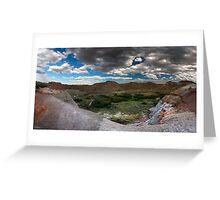 Dinosaur Provincial Park, Alberta Greeting Card