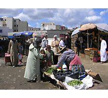 Moroccan Market Photographic Print
