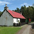 Cottage at Loch an Eilean by Tom Gomez