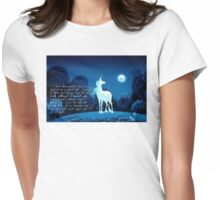 The Last Unicorn 2.0 Womens Fitted T-Shirt