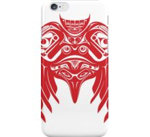 Raven Crow Pacific Northwest Style iPhone Case/Skin
