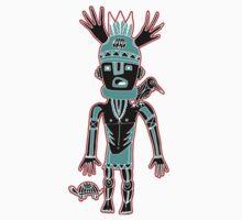 KIDchina crow by arteology