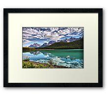 Waterfowl Lake, Banff National Park Framed Print