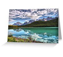Waterfowl Lake, Banff National Park Greeting Card