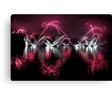Fireworks 19 Canvas Print