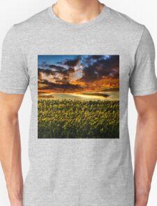 Sunflower Field Unisex T-Shirt