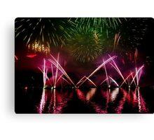 Fireworks 21 Canvas Print