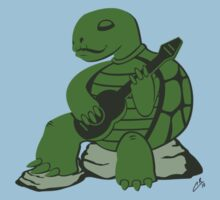 Guitar Turtle by peabody00