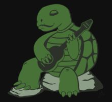 Guitar Turtle Kids Clothes