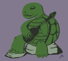 Guitar Turtle Kids Clothes