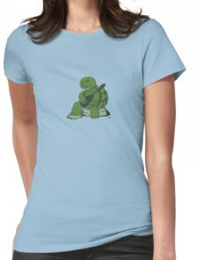 Guitar Turtle Womens Fitted T-Shirt