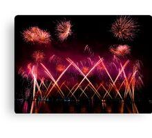 Fireworks 22 Canvas Print