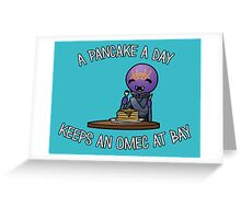 A Pancake A Day... Greeting Card