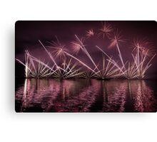 Fireworks 23 Canvas Print