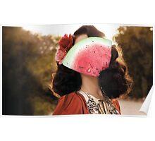 Lana Del Watermelon  Poster