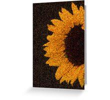 sun.flower Greeting Card