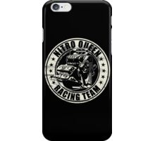 Nitro Queen Racing Team V8 Muscle Car | Aged White iPhone Case/Skin