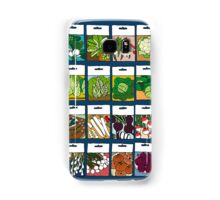 Vegetable seeds pattern Samsung Galaxy Case/Skin