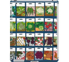 Vegetable seeds pattern iPad Case/Skin