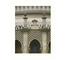 Brighton Pavillion Tracery Art Print