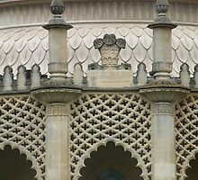 Brighton Pavillion Tracery by rualexa