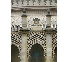 Brighton Pavillion Tracery Photographic Print