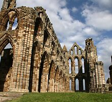 Whitby Abbey by Tom Curtis