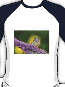 Silver-studded Blue Butterfly T-Shirt