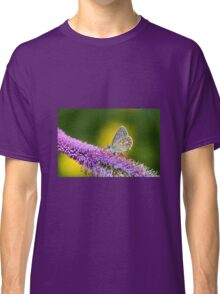 Silver-studded Blue Butterfly Classic T-Shirt