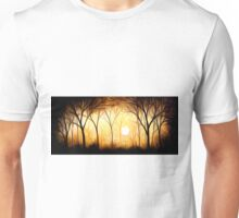 Abstract Trees Oil Painting #6 Unisex T-Shirt